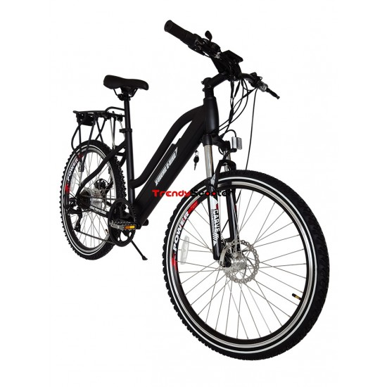 Sedona Step Through Electric Beach Cruiser Bicycle With Power Assist