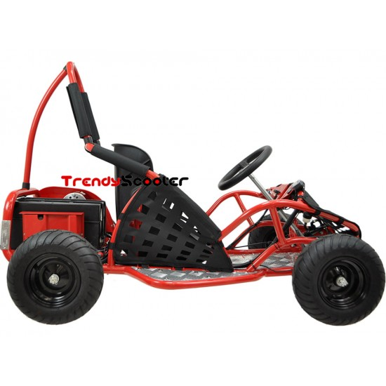 MotoTec 48V 1000 Watt Electric Off Road Go Kart