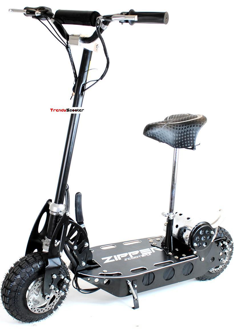 Zipper Foldable Electric Scooter For